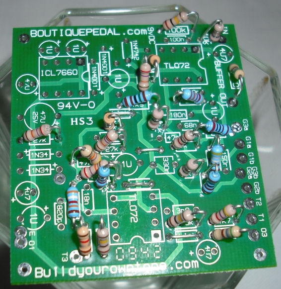 klon centaur clone circuit board photo 1Com Build Your Own Tone Klon Centaur Clone Circuit Boards #11