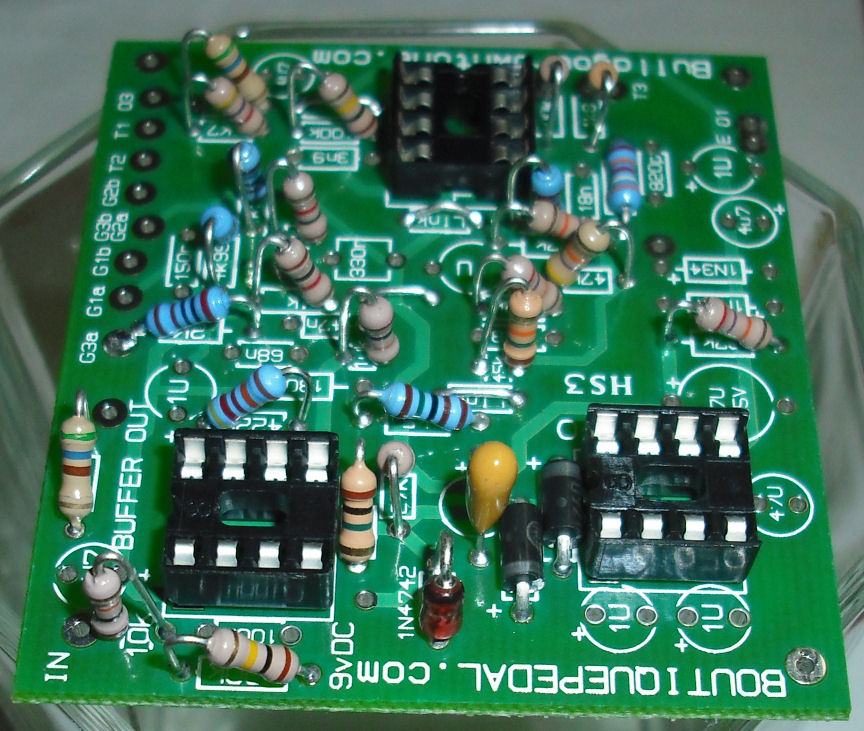 klon centaur clone circuit board photo 4Com Build Your Own Tone Klon Centaur Clone Circuit Boards #5
