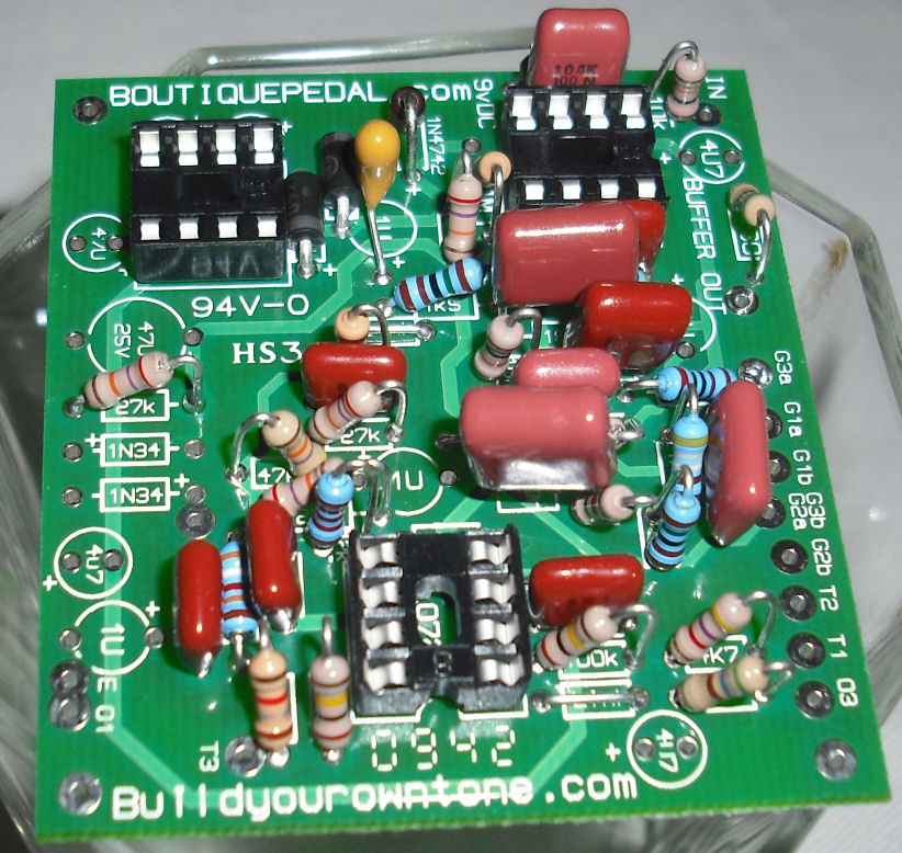 klon centaur clone circuit board photo 6