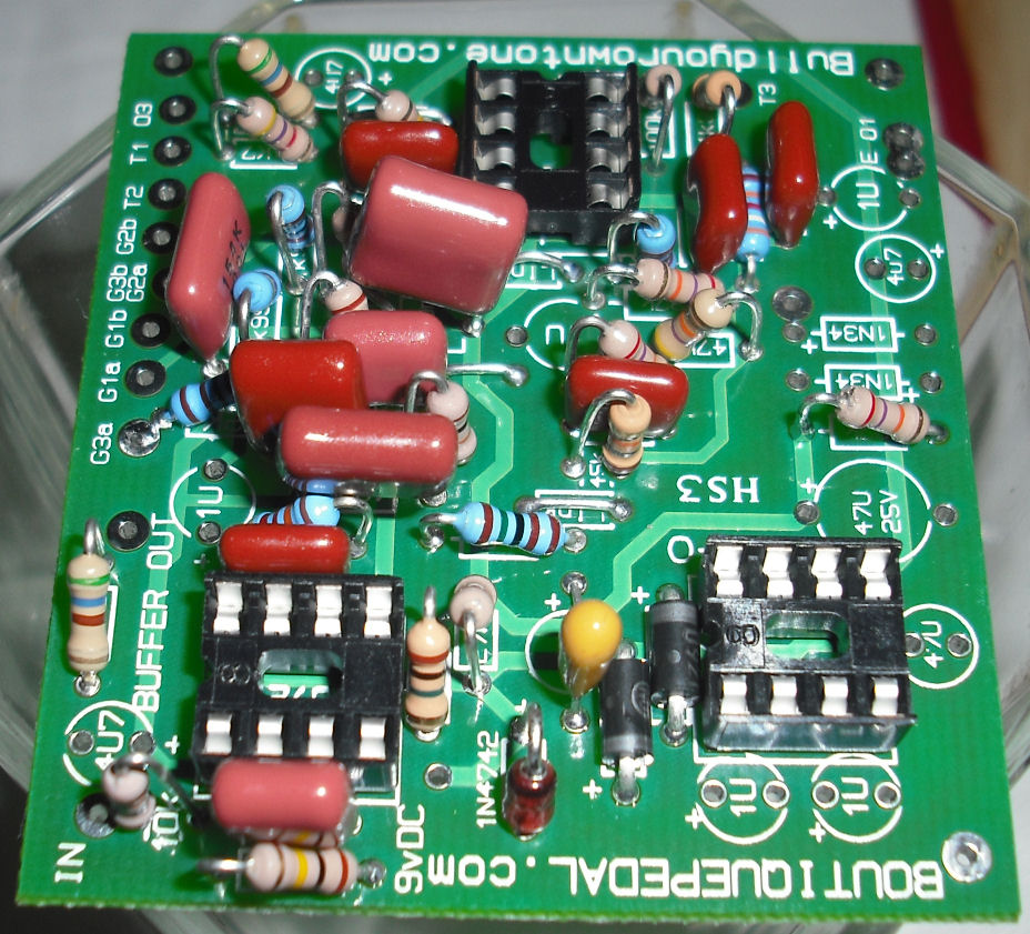 klon centaur clone circuit board photo 7Com Build Your Own Tone Klon Centaur Clone Circuit Boards #14