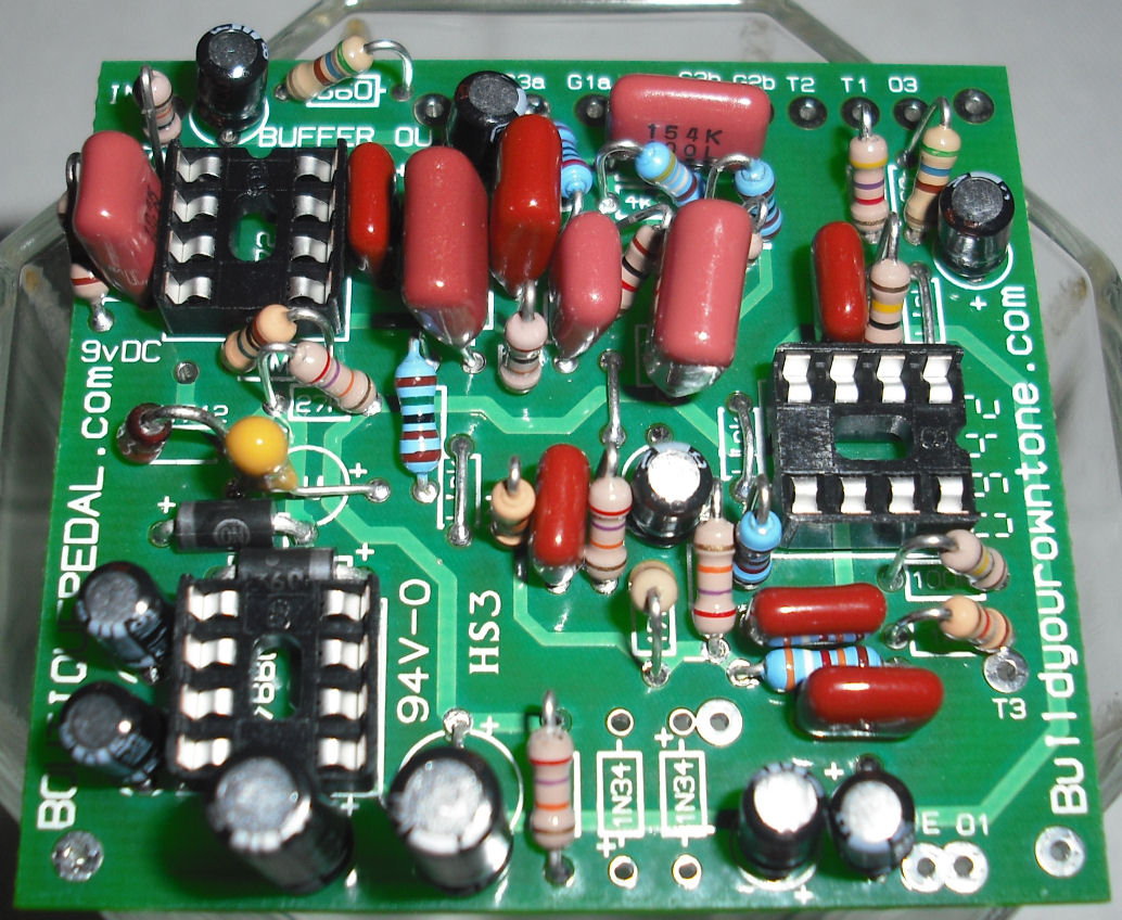 klon centaur clone circuit board photo 8Com Build Your Own Tone Klon Centaur Clone Circuit Boards #6