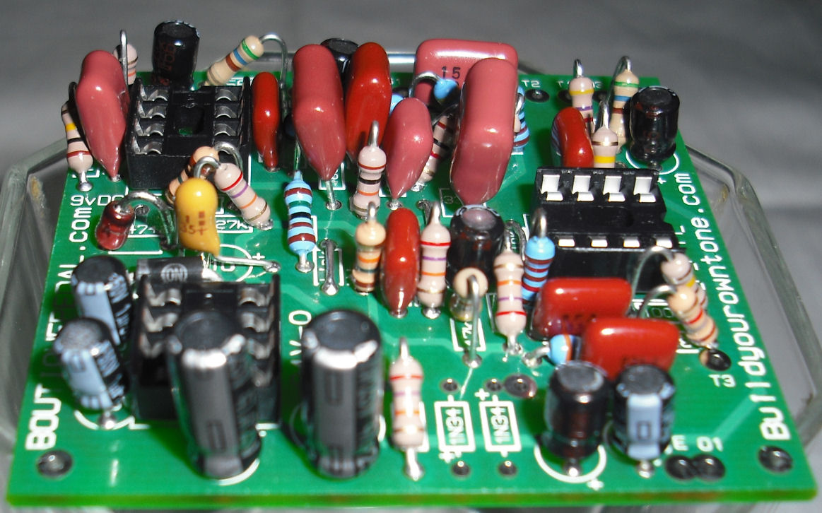Klon Centaur Clone Circuit Board Photo 9 Build Your Own